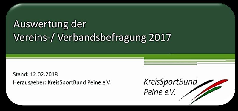 Vereinsbefragung 2017