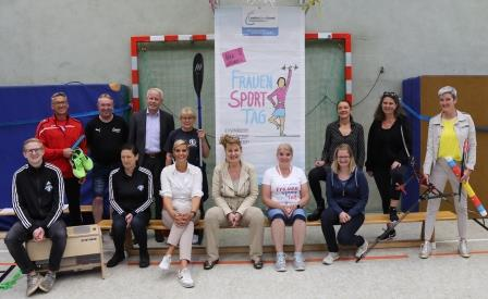Orga-Team zum FrauenSportTag 2021 in Peine