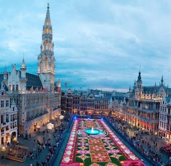 Brüssel Blumenteppich