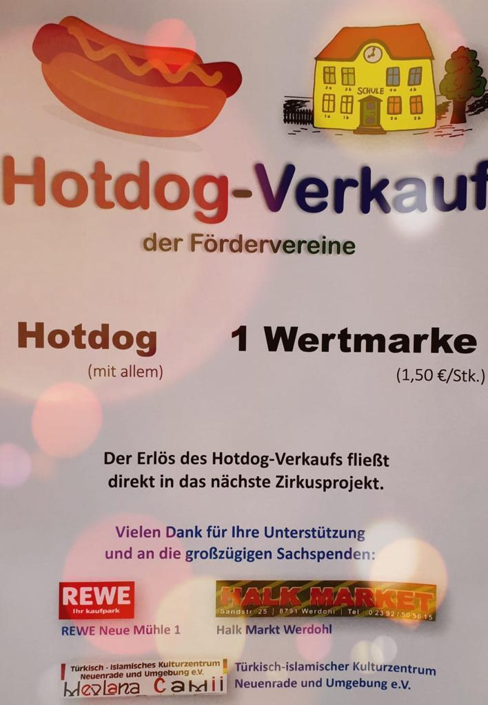 Hotdog-Verkauf