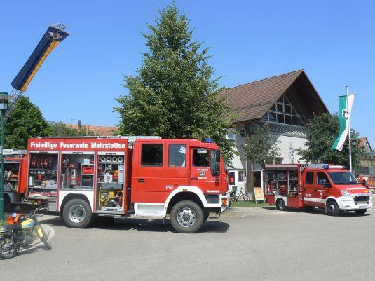 Feuerwehrauto bei Hockete 2015