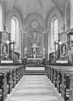 1951-Innenbereich Pfarrkirche