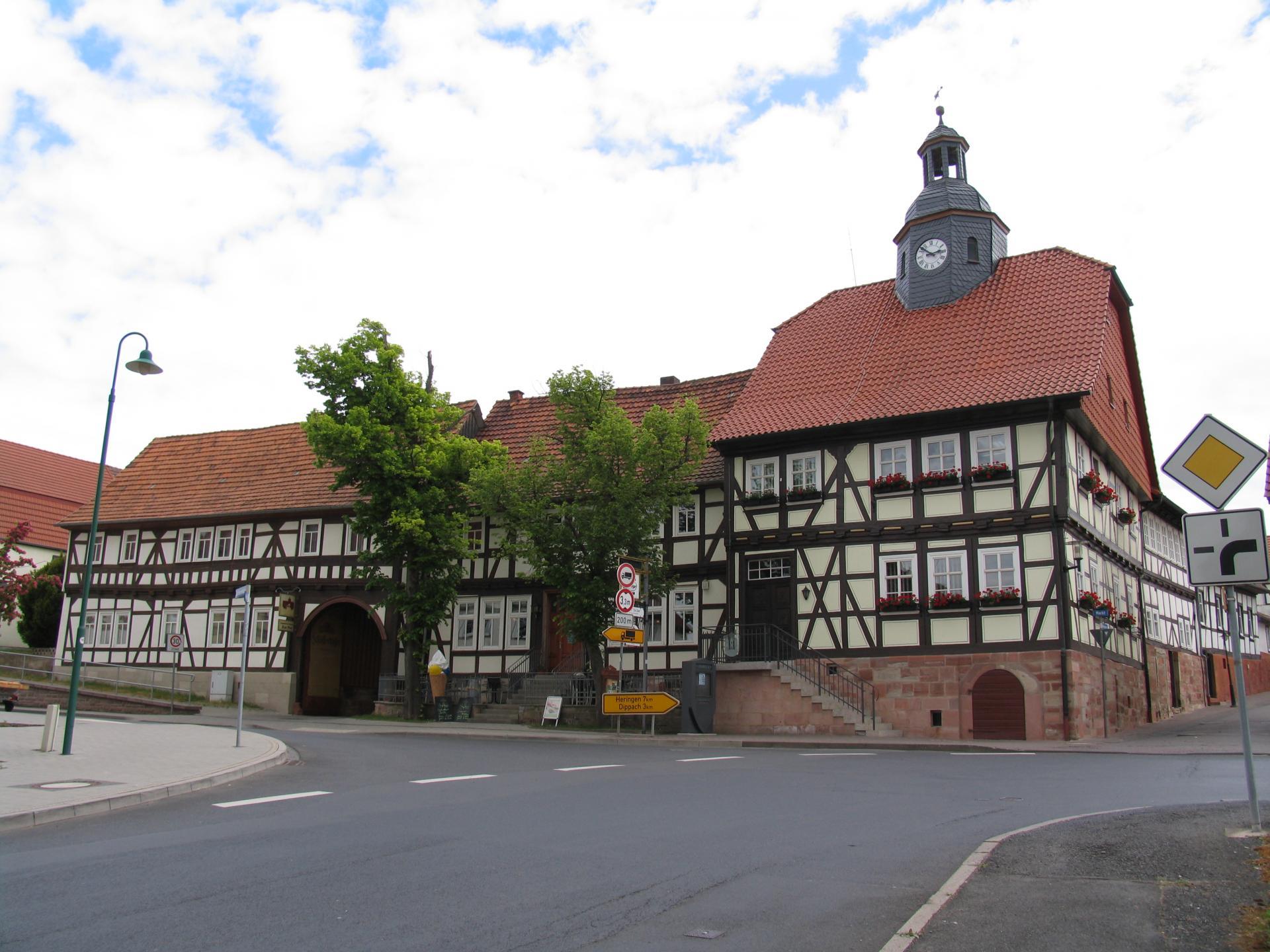 Rathaus  Stadtteil Berka