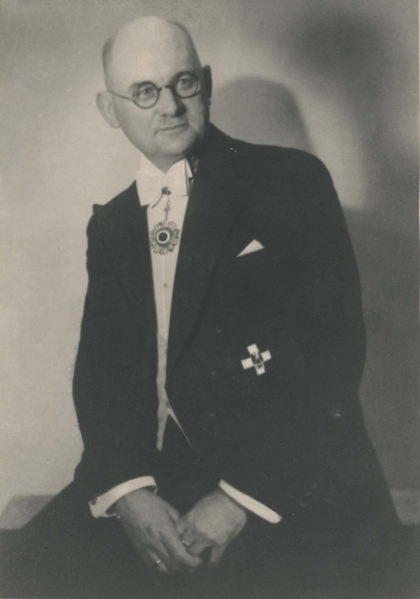 Foto: John Rabe, 1938 © Privatarchiv