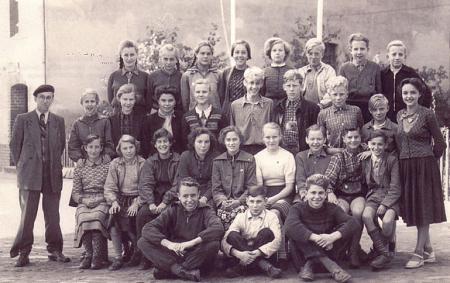 Schulfoto aus den 50iger Jahren