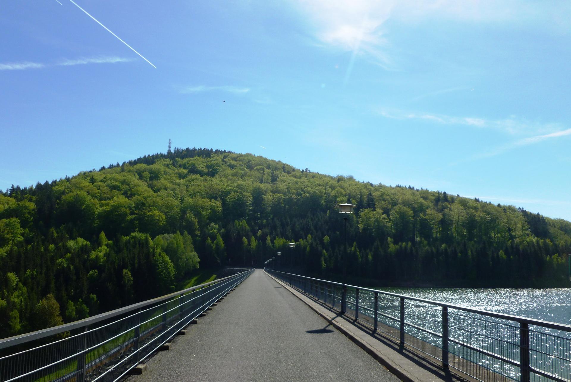 Talsperre Brücke