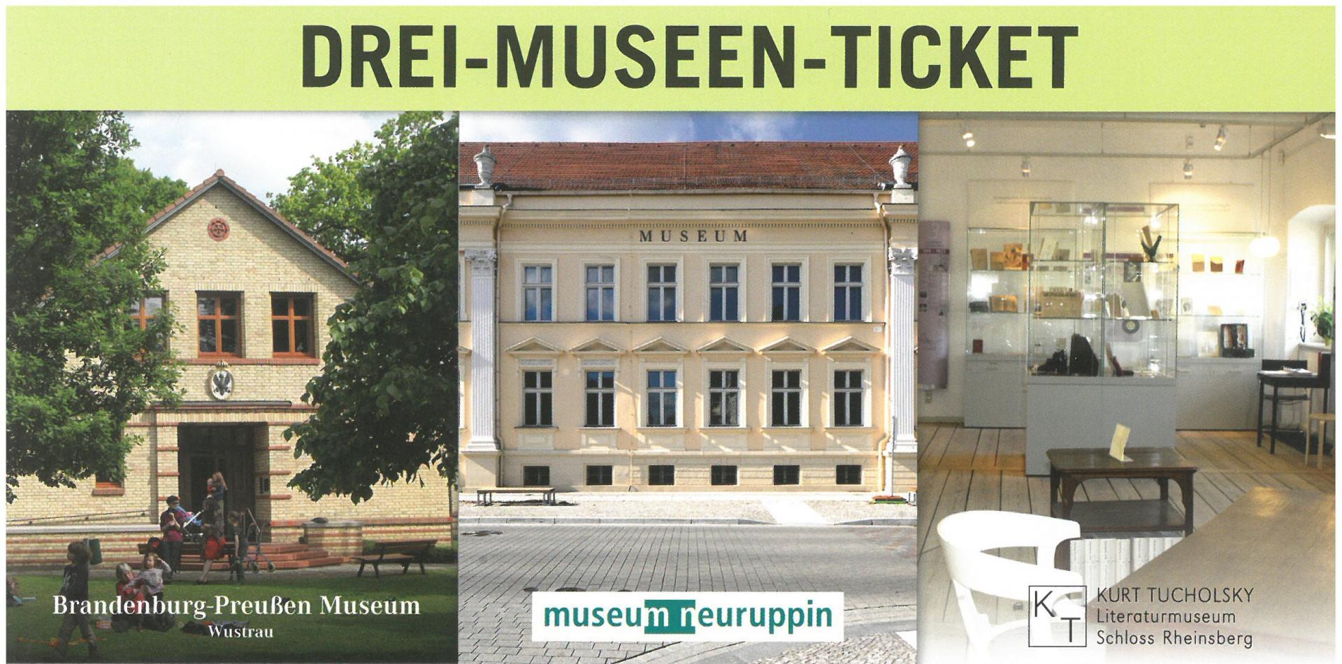 Drei-Museen-Ticket