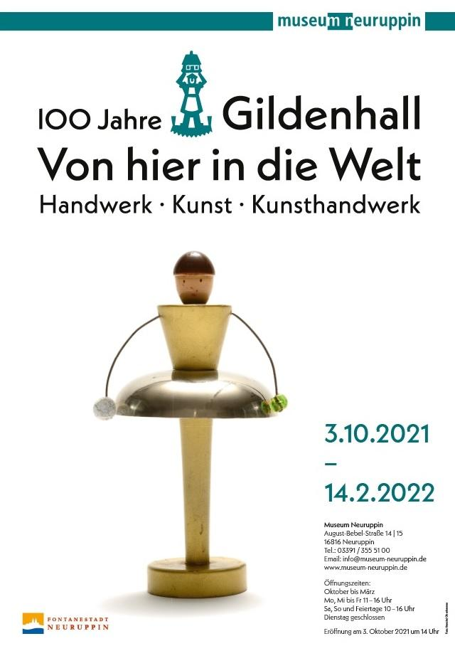Plakat: Gildenhall_I. Von hier in die Welt