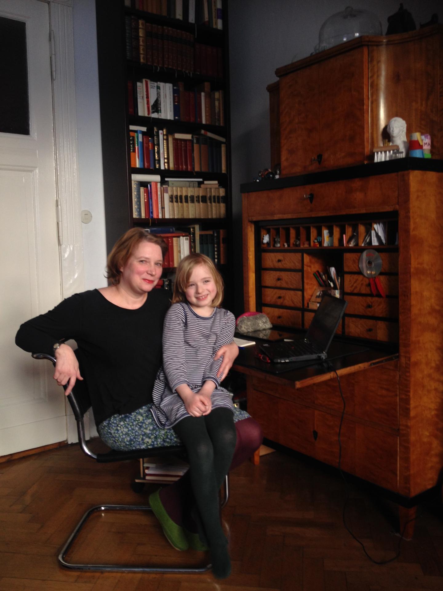 Carola Zimmermann und Tochter