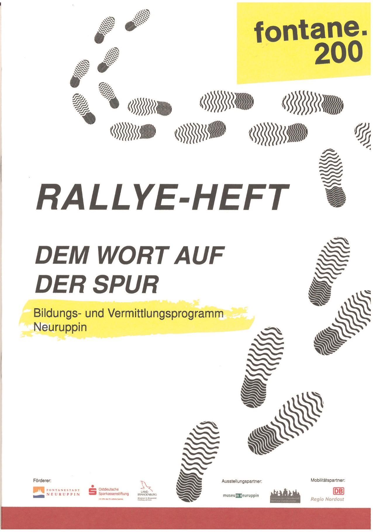 Rallye-Heft