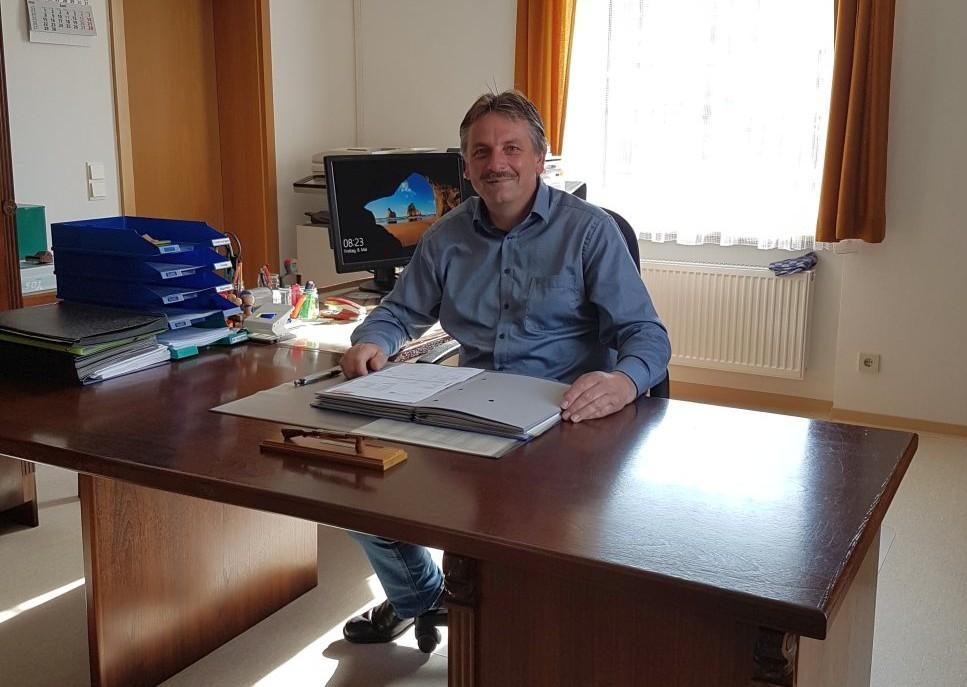 1. Bürgermeister Hermann Mertel - Bildrechte: eigenes Bild