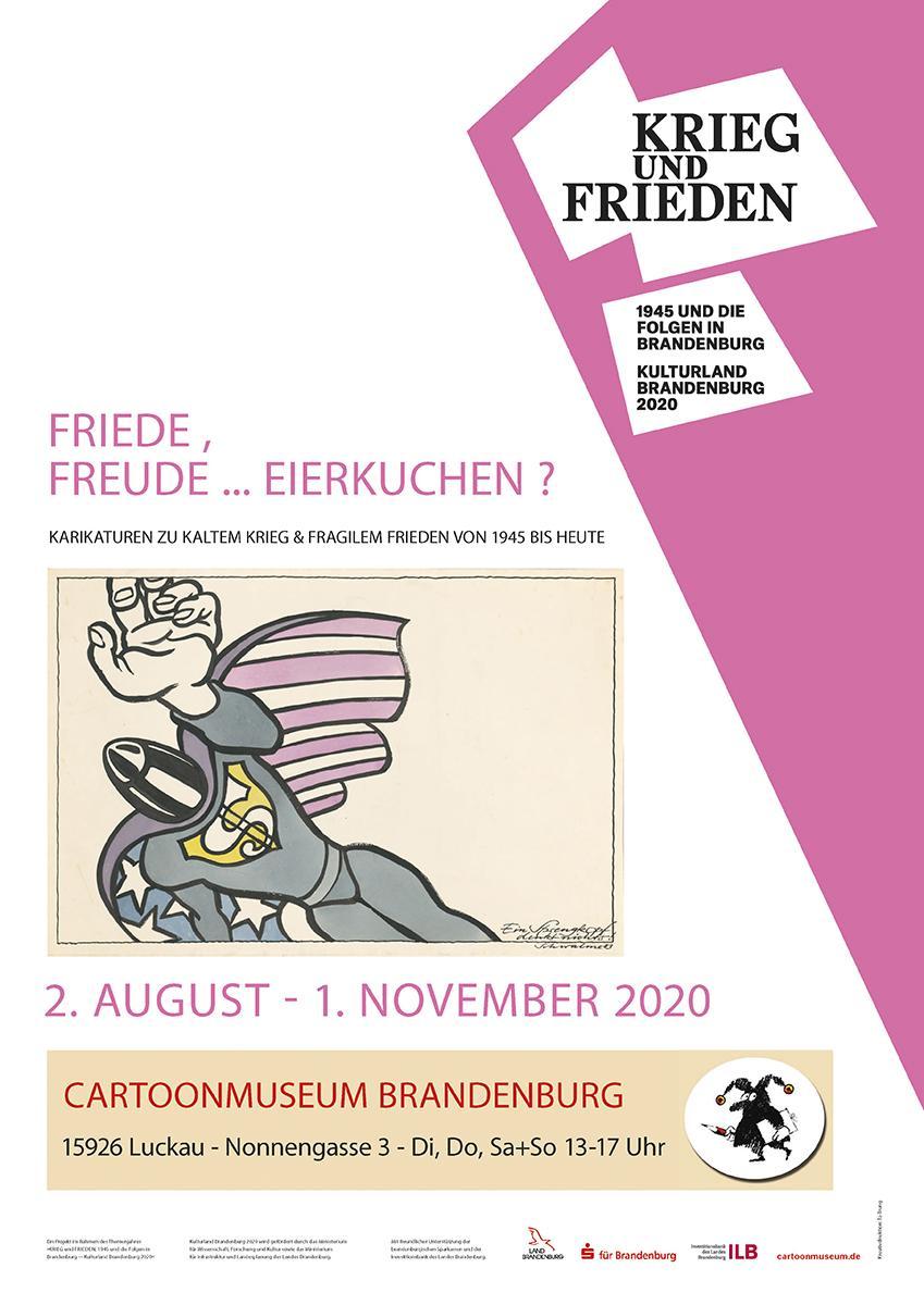 Kulturland Brandenburg 2020 im Cartoonmuseum