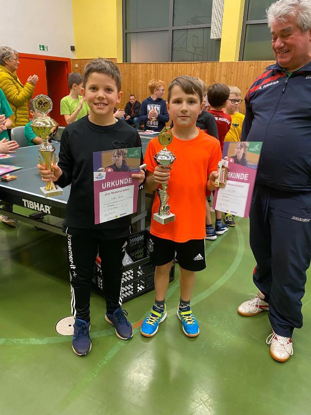Tischtennis-Mini-Meisterschaften bei den TTF Illtal