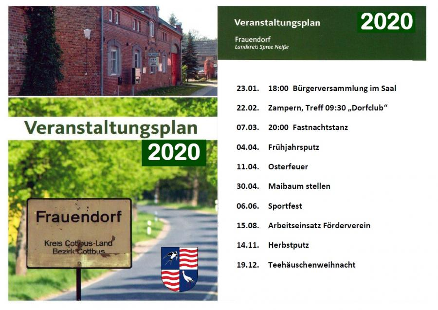 Termine 2020