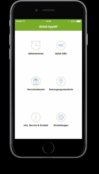 Abfall-App AWNF
