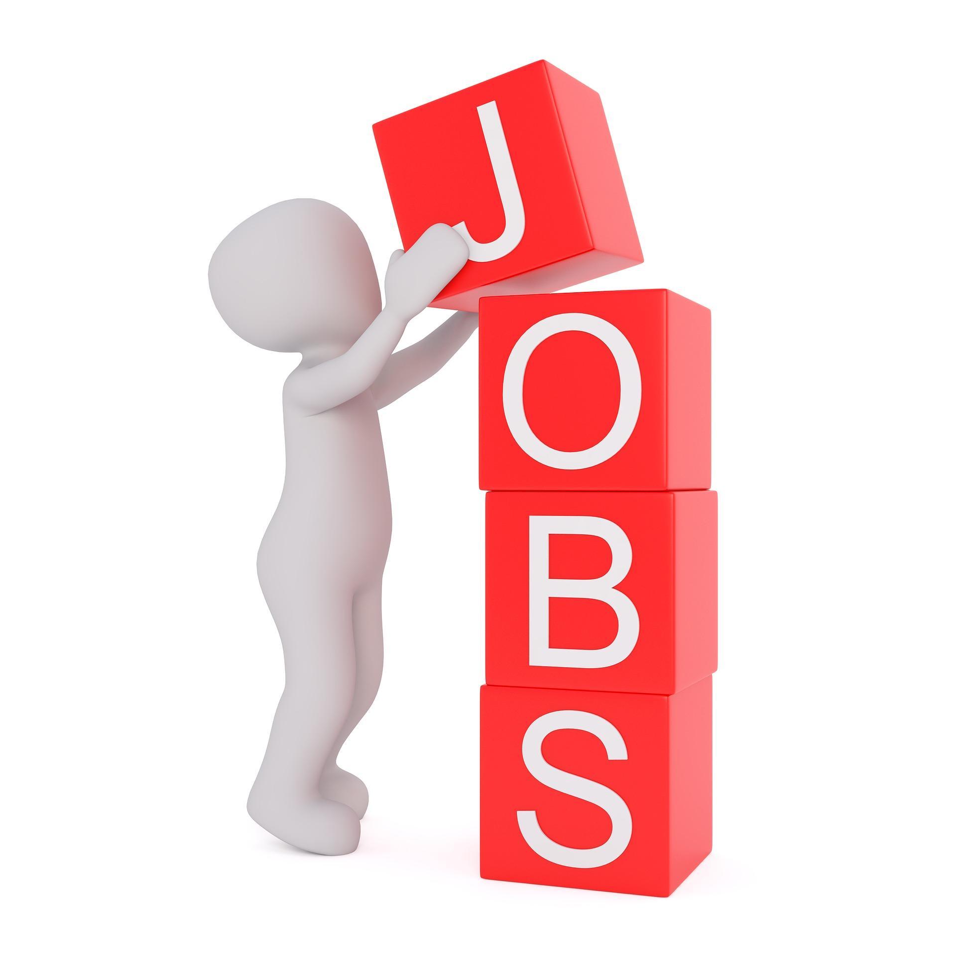 Jobs - Bild von Peggy und Marco Lachmann-Anke auf Pixabay
