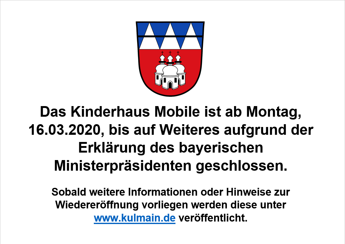 Schließung Kinderhaus Mobile