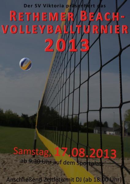 Turnier Plakat