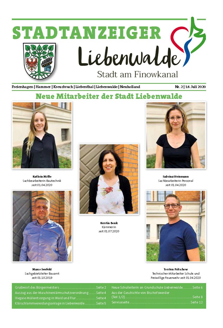 Liebenwalder Stadtanzeiger
