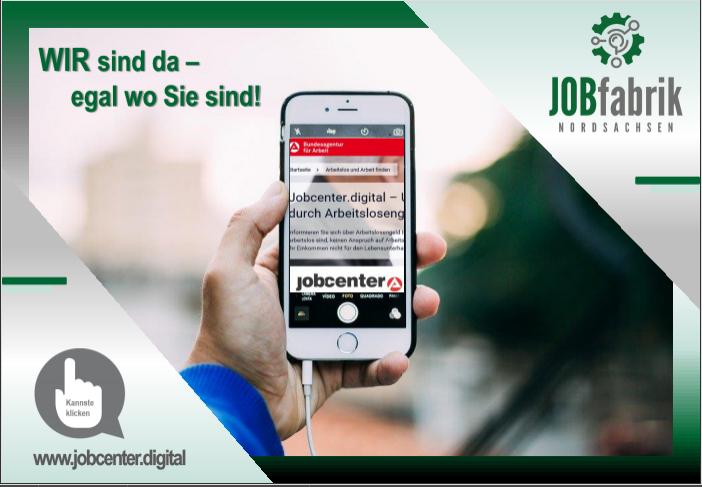 Postkarte-Jobcenter