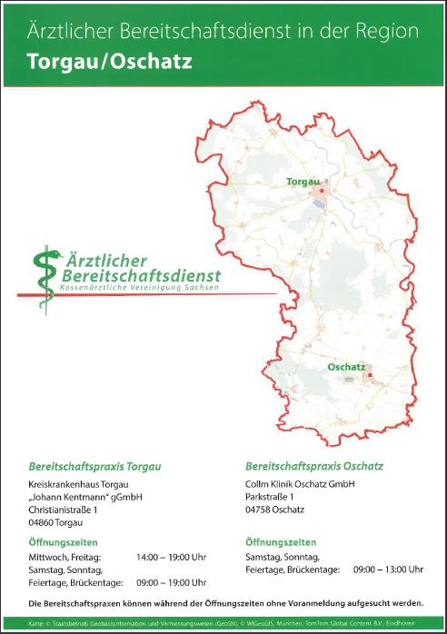 Ärztlicher Bereitschaftsdienst Region Torgau-Oschatz