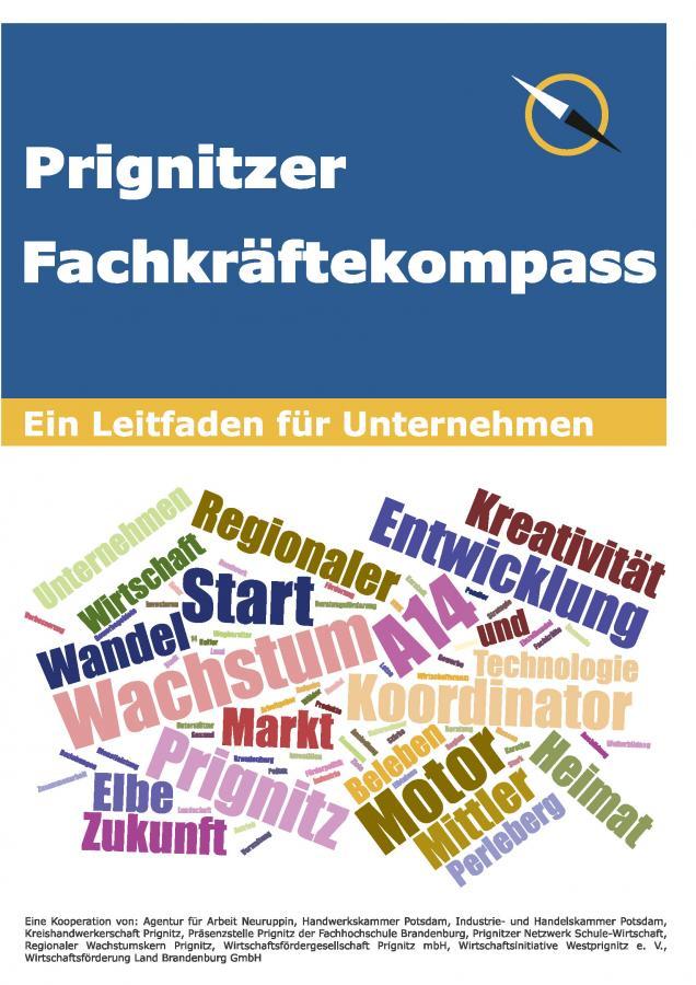 Prignitzer Fachkräftekompass Cover