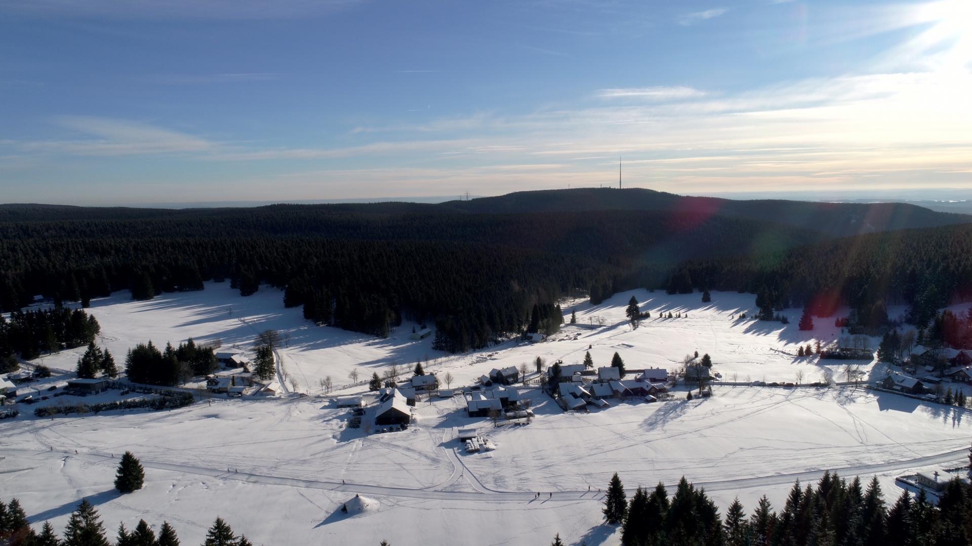 Friedrichshöhe Luftbild