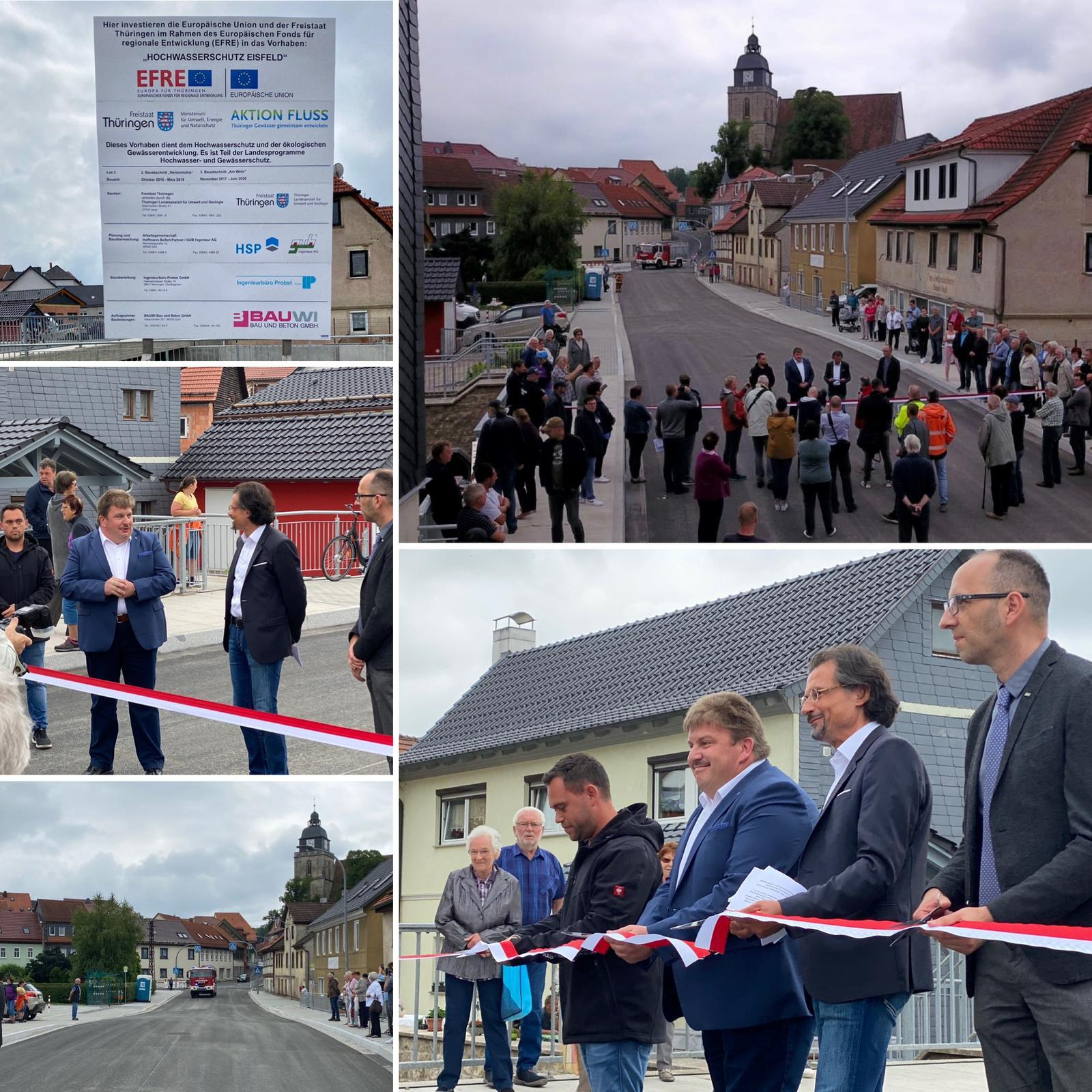 Eröffnung Werrabrücke Eisfeld 16.06.2020