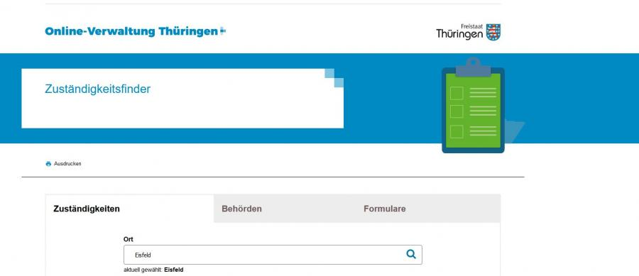 Onlinesuche Thüringen