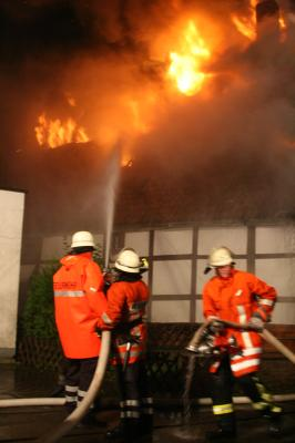 Wohnhausbrand in Bad Pyrmont