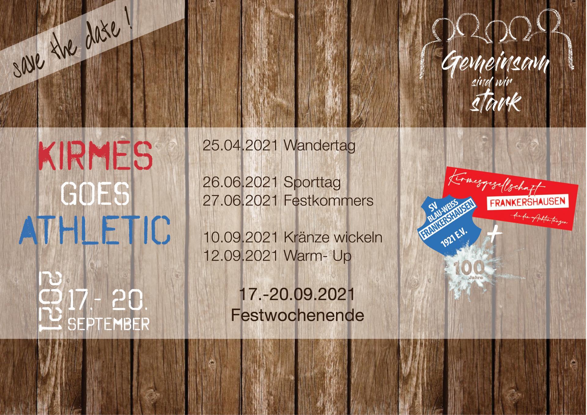 100 Jahre SV Blau-Weiss Frankershausen
