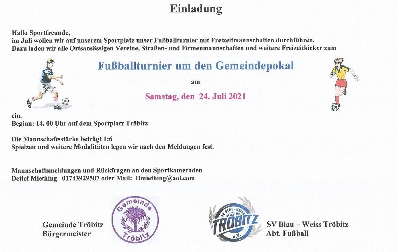 Gemeindepokal 2021