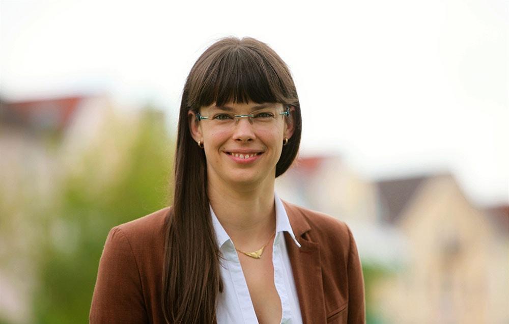 Bürgermeisterin Franziska Kenntner