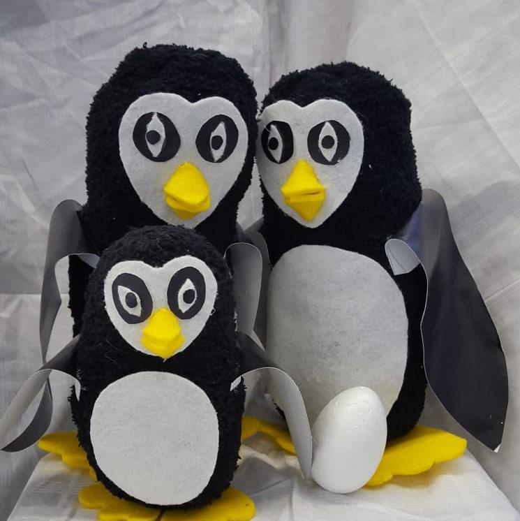 Pinguine im zweiten Hortraum