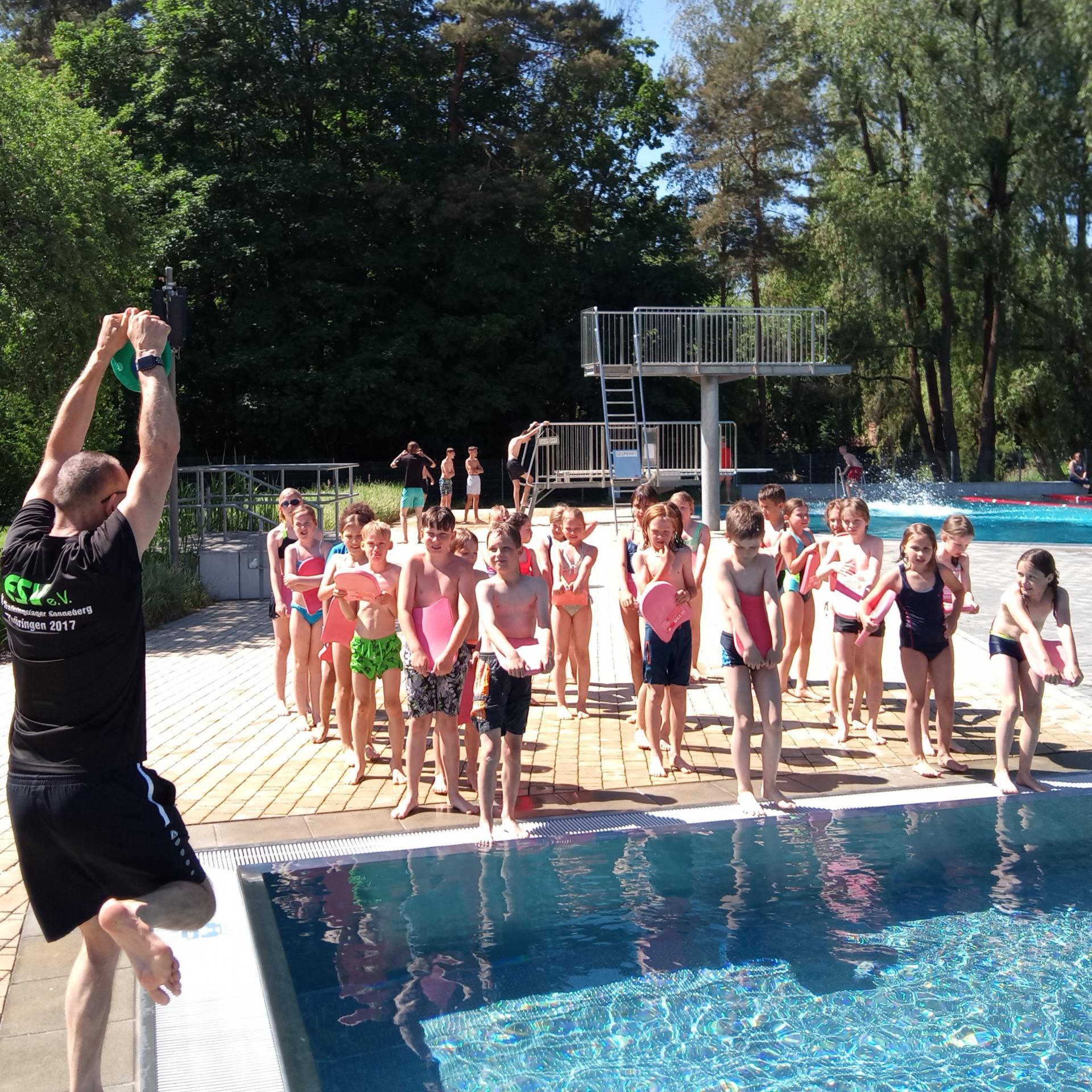 Schwimmwoche Klasse 3