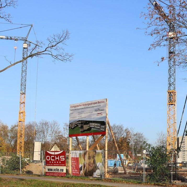 Der Neubau unserer Schule geht voran