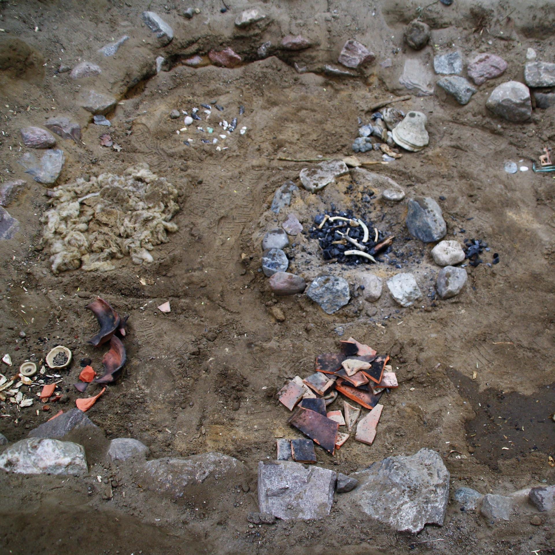 Ausgrabungsstätte 4