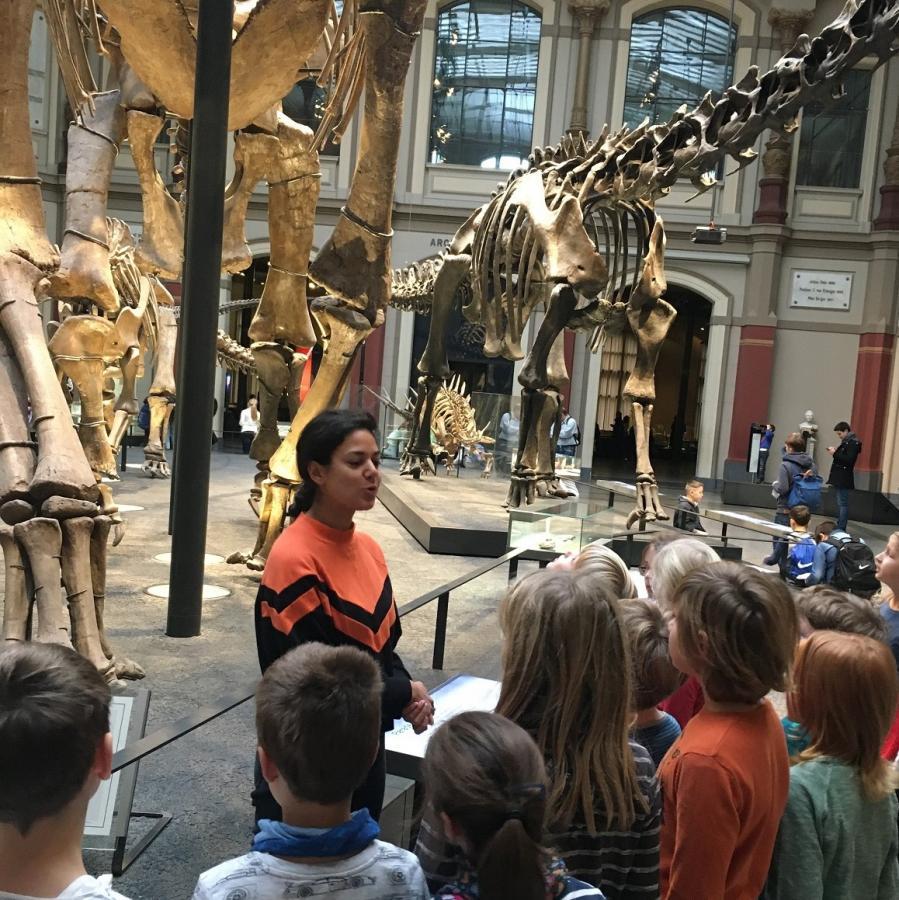 Besuch im Naturkundemuseum