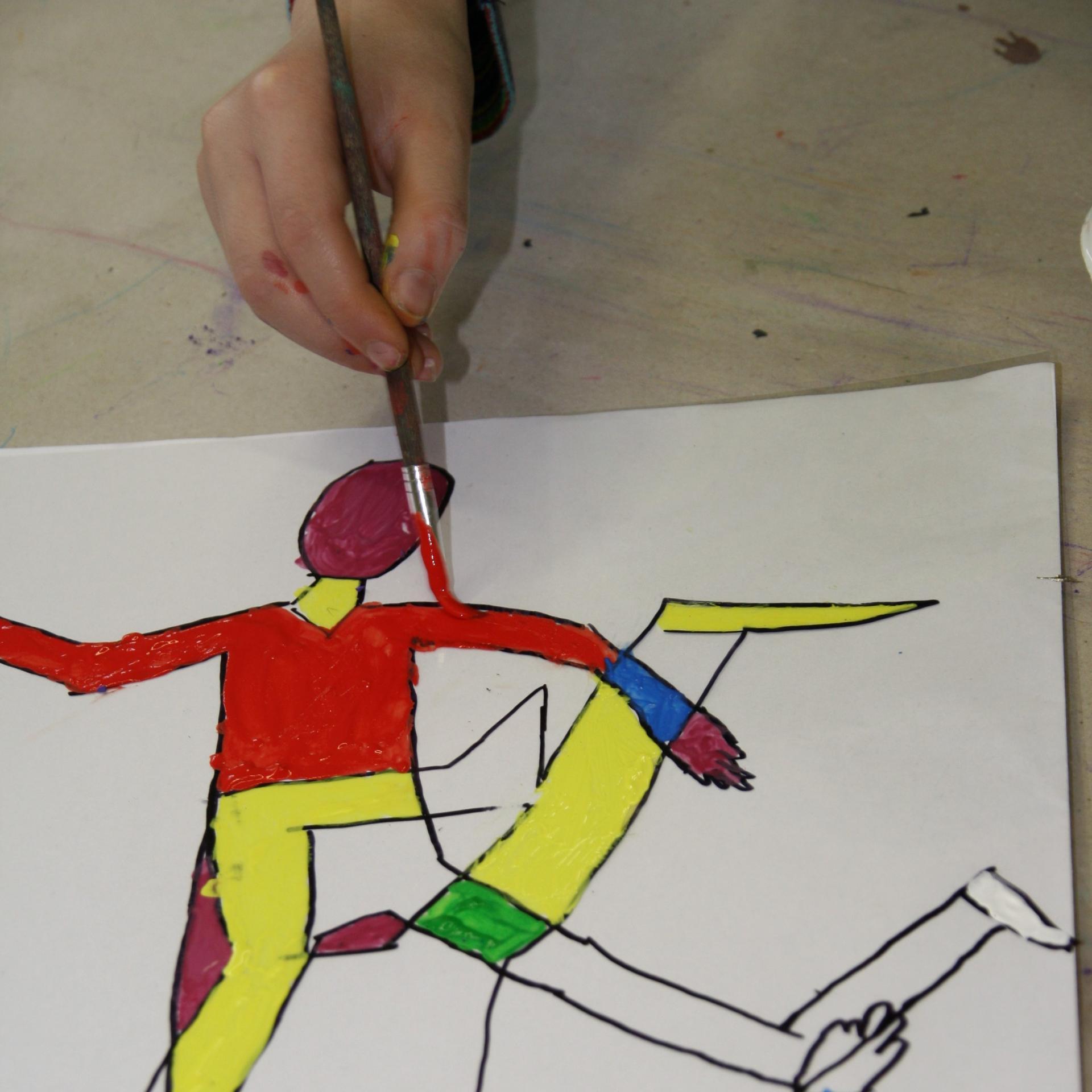 Gemeinsam künstlerisch arbeiten