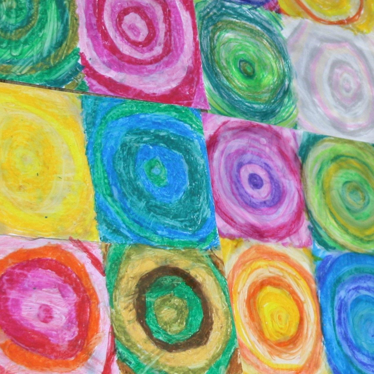 Kinder-Kunstwerke