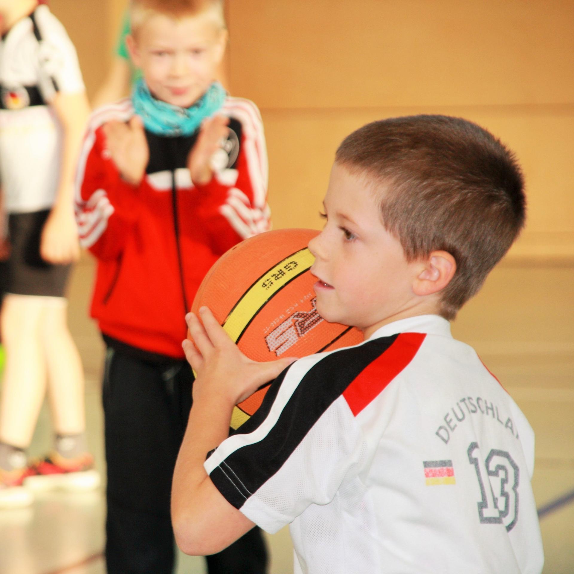 Basketball-Projekttag