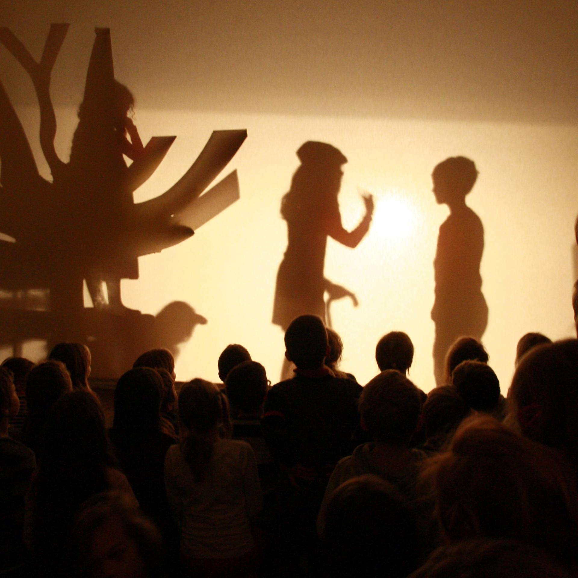 Schattentheater zur Lese-Lichter-Nacht