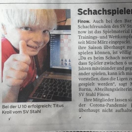 Online-Schachturnier