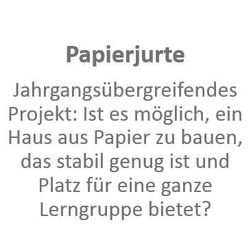 Papierjurte