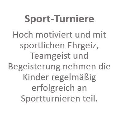Sport-Turniere