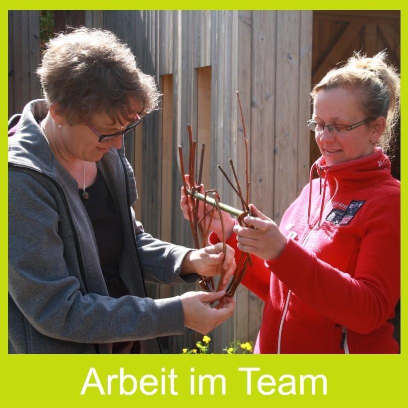 Arbeit im Team