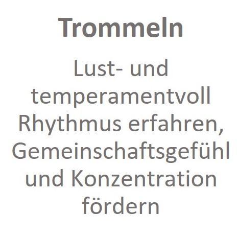 Trommeln
