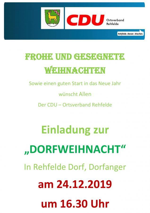 2019_CDU Weihnachten