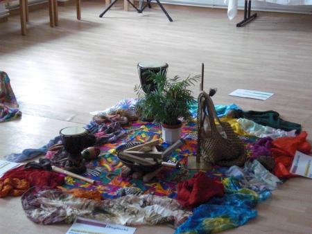 Altar zum WGT - Papua Neuguinea