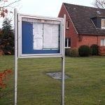 Gemeindebüro in Moorweg bis 2020.